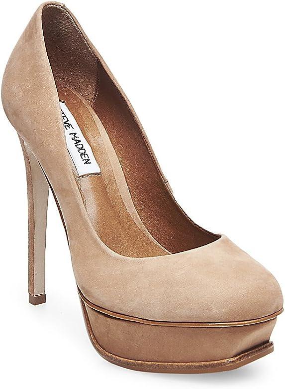 bomba Solo haz Definitivo  Steve Madden Salones Marrón EU 39 (US 9): Amazon.es: Zapatos y complementos