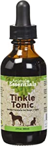 Animal Essentials Tinkle Tonic Herbal Formula for Healthy Urinary Tract in Dogs & Cats (Various Sizes) - Made in the USA (2 fl oz)