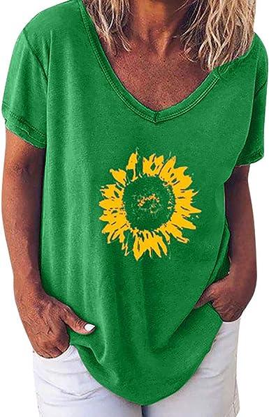 YFancy Women Fashion Hot Popular Girls Cute Plus Size Letter Print Tees Shirt Short Sleeve T Shirt Blouse Tops