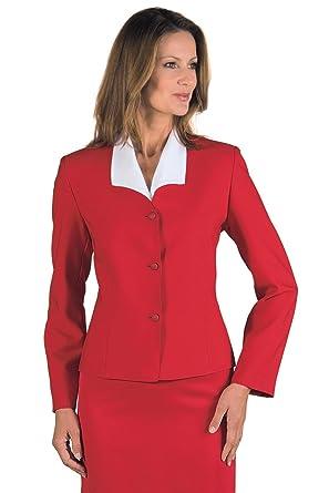 Rouge et Vêtements Deborah Col Femme Isacco V Veste qwXfWP0