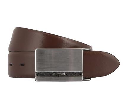 bugatti ceinture en cuir ceinture hommes marron  Amazon.fr  Vêtements et  accessoires 23a96cbca20