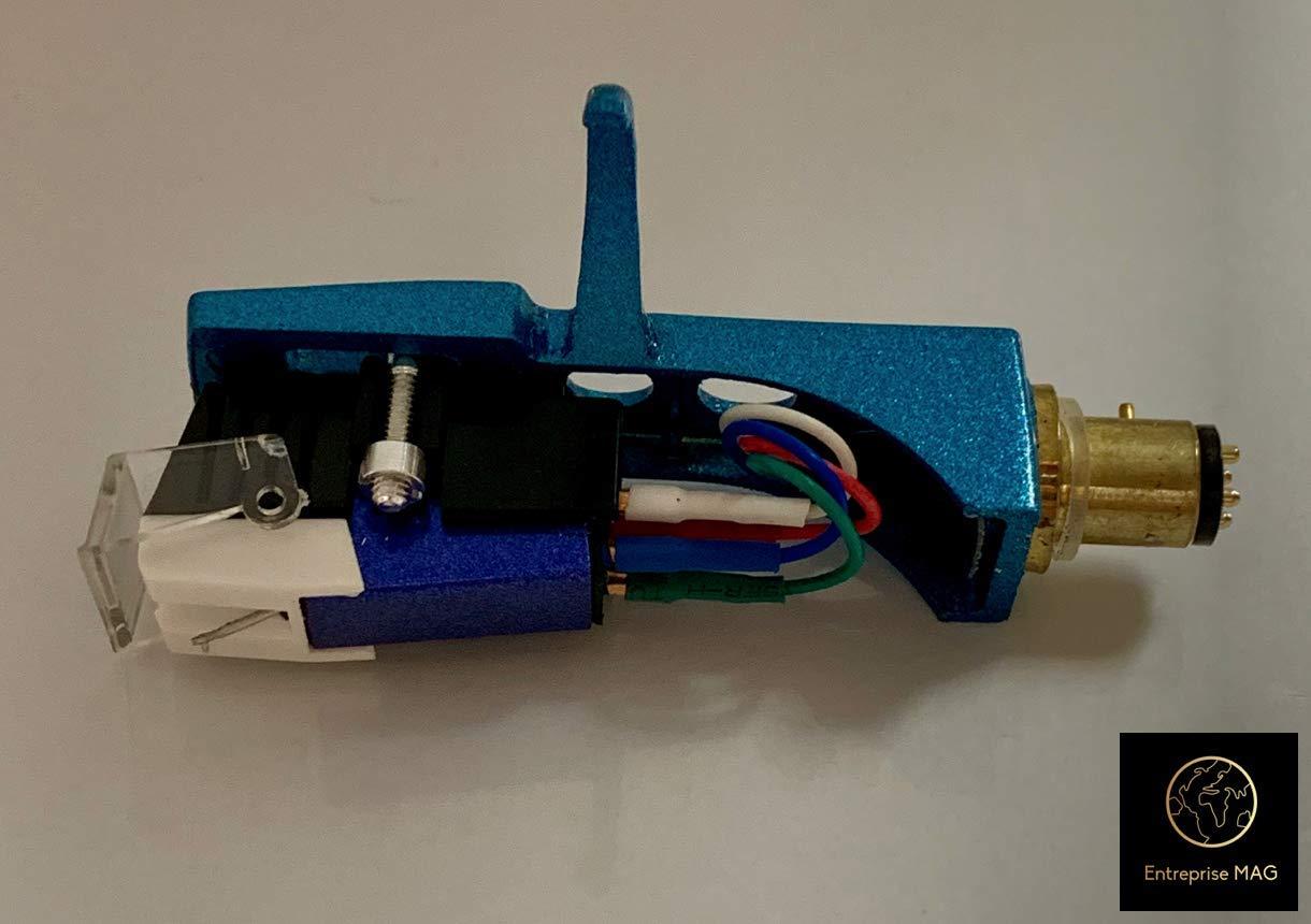 Amazon.com: Cartridge, Stylus Needle and Light Blue ...