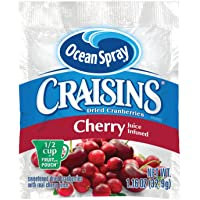 Ocean Spray Craisins Dried Cranberries, Cherry, 1.16 Ounce (Pack of 200)
