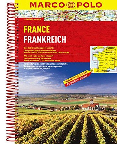 MARCO POLO Reiseatlas Frankreich