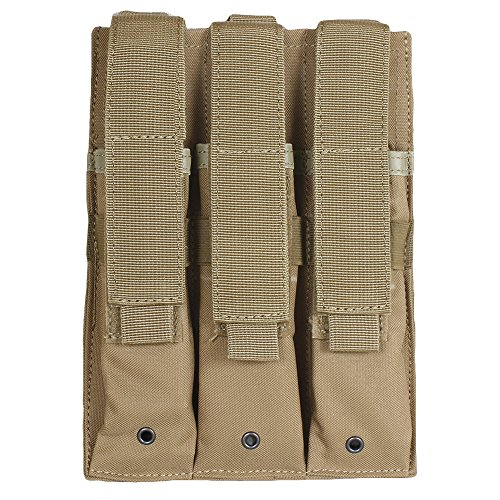 Fox Outdoor Triple MP 5 Mag Pouch - Magazine Pouch Modular