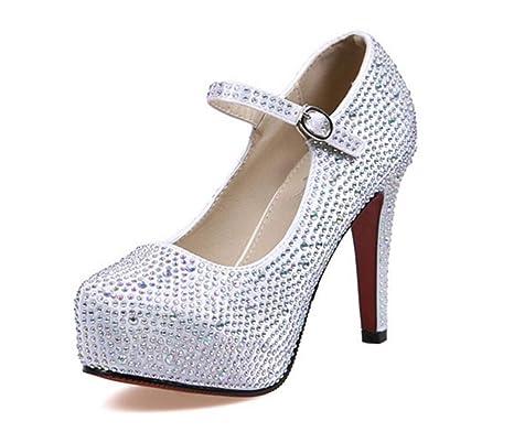 Cristal Alto Tacón Eeayyygch Zapatos De Plataforma Sexy 6zqOHOwIx