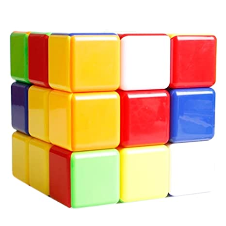 FormulaR Large Cube 3x3x3 180mm Magic Puzzle Toy Colorful