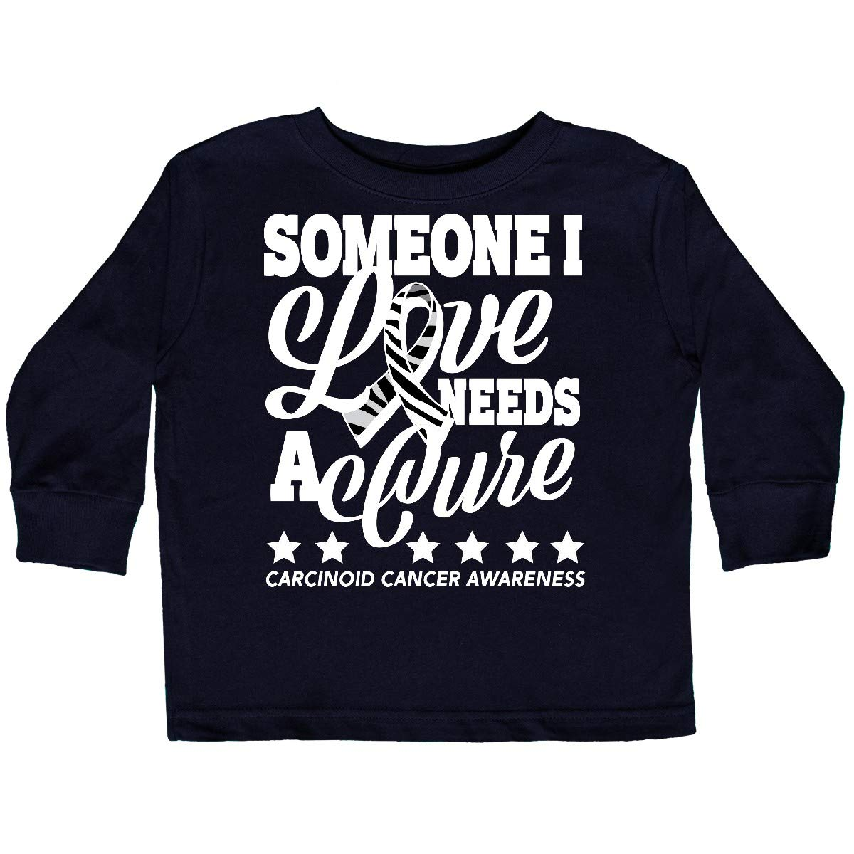 inktastic Someone I Love Needs a Cure Carcinoid Cancer Awareness Baby T-Shirt