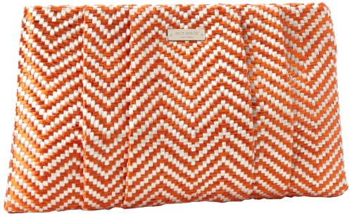 Kate Spade New York Bungalow Breeze April PXRU4138 Clutch,Valencia/Gold,One Size, Bags Central