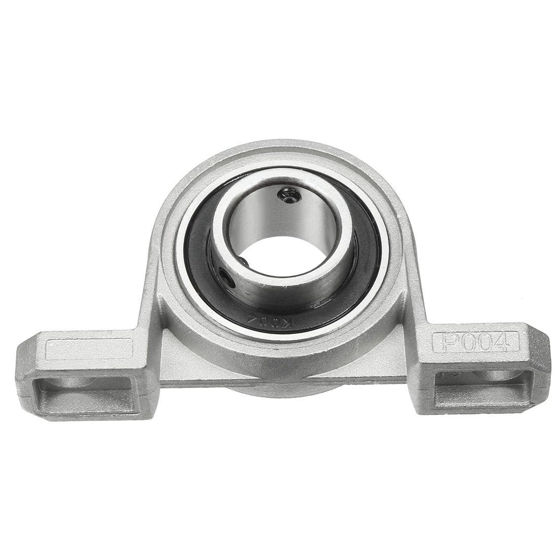 2pcs KP001 12mm al/ésage en alliage de zinc int/érieur mont/é /à bille roulement roulement dinsertion de bloc doreiller