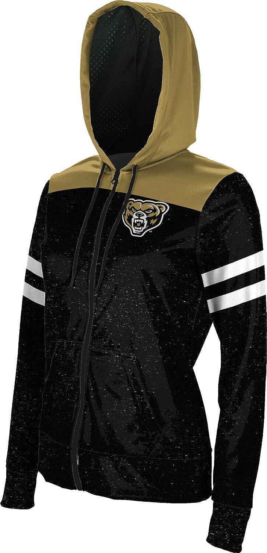 School Spirit Sweatshirt ProSphere Oakland University Girls Zipper Hoodie Gameday