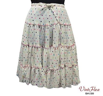 blanco vestido maxi falda larga del georgette india punto impreso ...