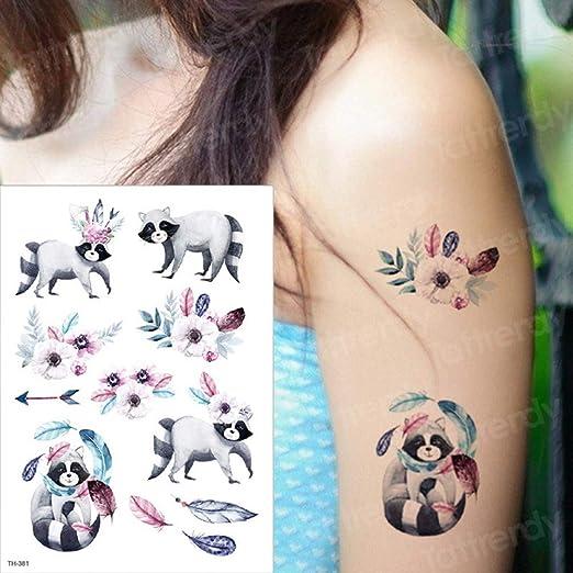 SDEFGH Etiqueta engomada del tatuaje 3PCS niños Tatuaje Temporal ...