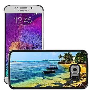 Print Motif Coque de protection Case Cover // V00002631 Sri Lanka // Samsung Galaxy S6 EDGE (Not Fits S6)