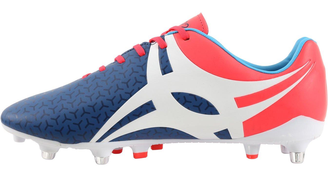 Gilbert Evolution Hybrid Men's Rugby Boots, Blue, US10