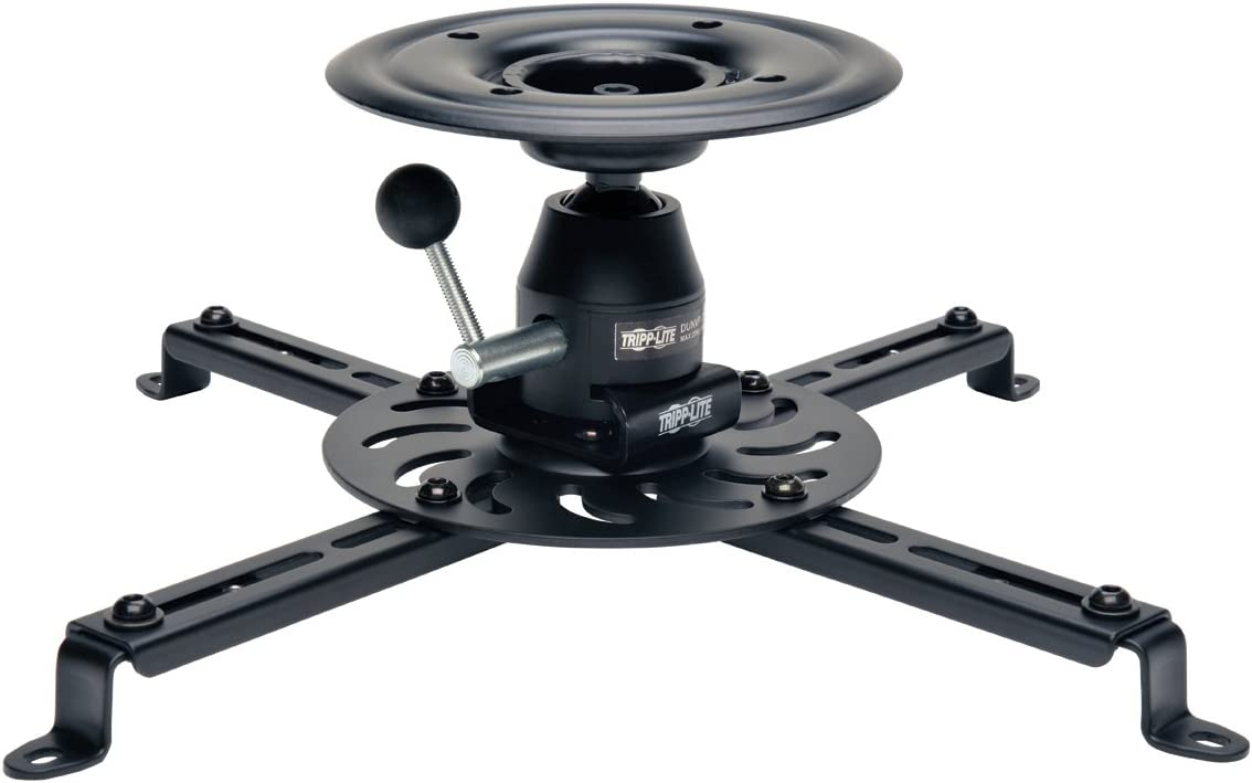 TRIPP LITE DUNVPJT Display Projector Universal Ceiling Mount Full Motion,Black