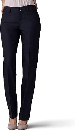 Lee Women's Secretly Shapes Straight Leg Pant