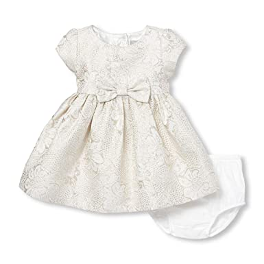 d487e4ba402a Amazon.com  The Children s Place Baby Girls Short Sleeve Dressy ...