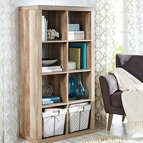 Better Homes Gardens 8-Cube Organizer Creates Multiple Storage Solutions Horizontal Vertical Display (Weathered, 8-Cube) For Sale