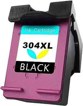 Asonway Remanufacturado HP 304 304XL Cartuchos de Tinta(1 Tricolor ...
