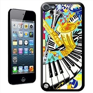 Fancy A Snuggle 'de jazz de teclado y saxofón' carcasa para Apple iPod Touch 5th generación