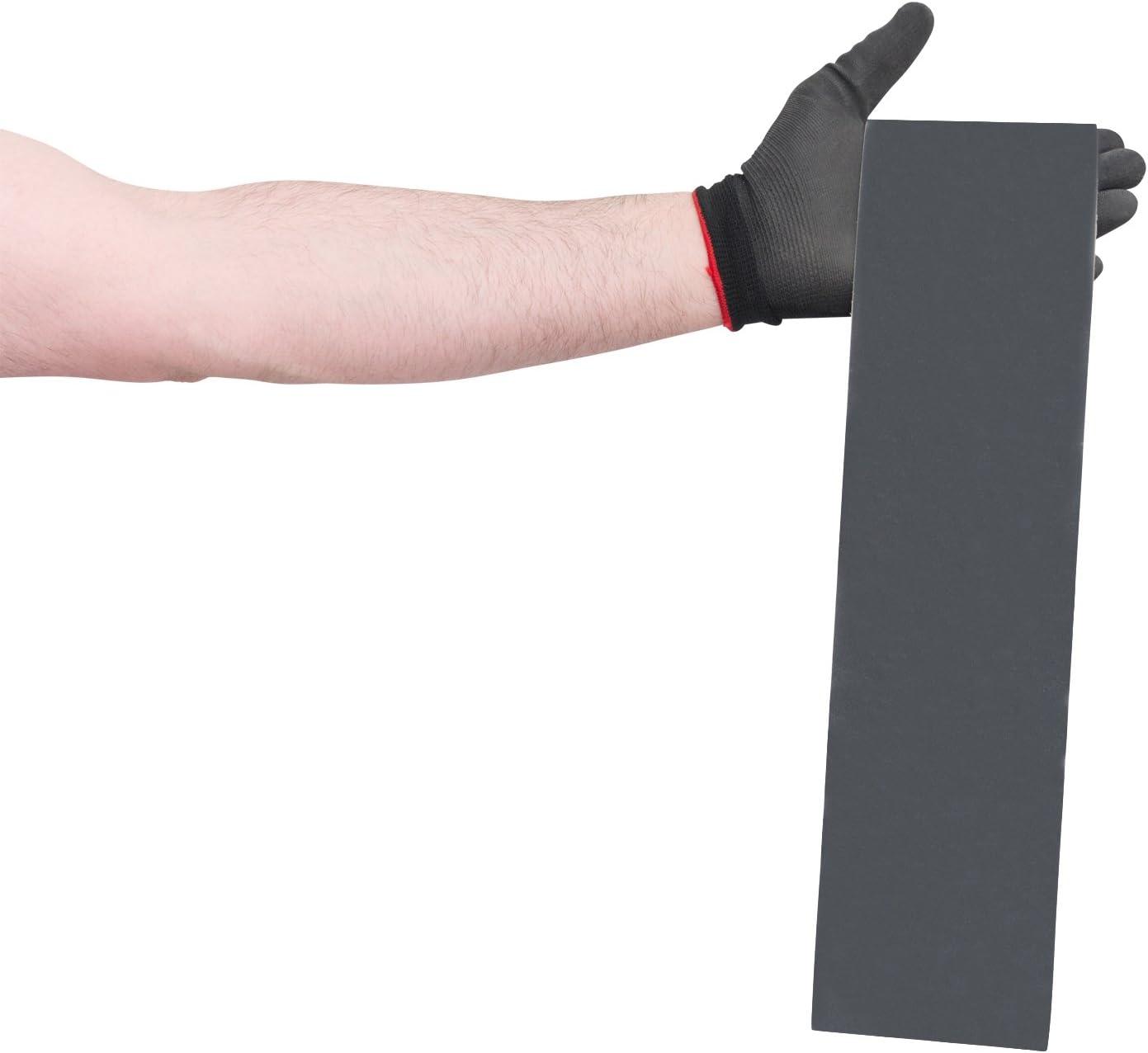 Fine Grade 3 Width VSM 222306 Abrasive Belt Pack of 10 Cloth Backing 3 Width 120 Length VSM Abrasives Co. Silicon Carbide 180 Grit Black 120 Length