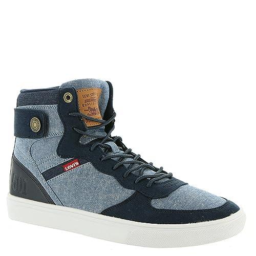 86f08e59 Levi's Jeffrey Hi 501 SB Men's Fashion Shoes Blue/White 518443-u80 (10