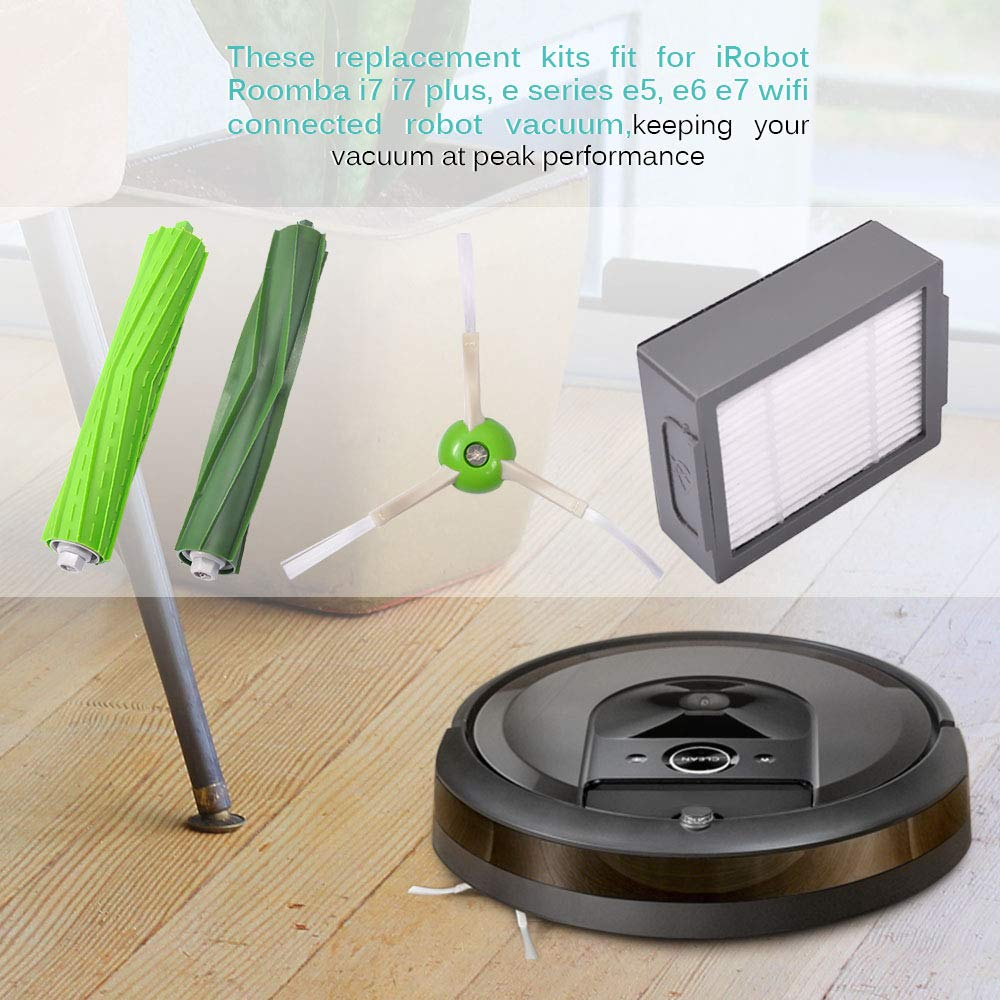 12 Pack Replacement For iRobot Roomba i7 i7+//i7 Plus E5 E6 Vacuum Cleaner Tool