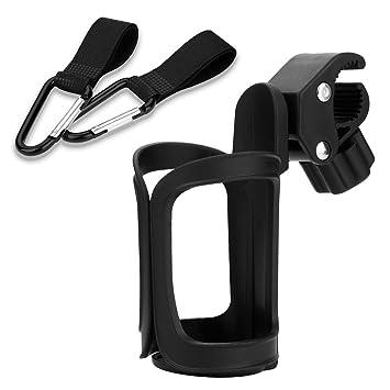 Amazon.com: carriola Universal portavasos con 2 ganchos para ...