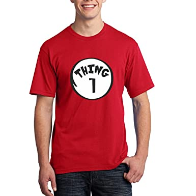 Thing 1 And Thing 2 Adult T Shirts