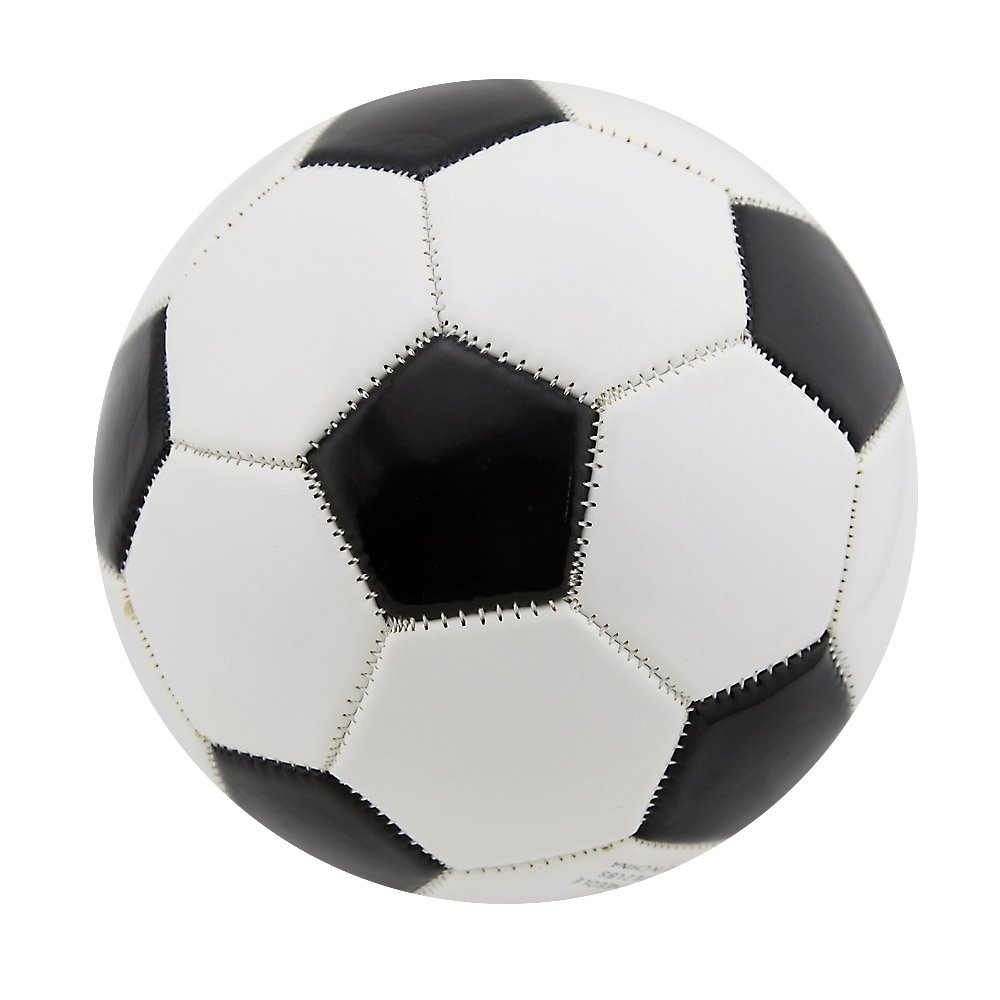 PVC Soccer Ball Kid Child Playing Small Extra Strong Sports Soccer Football Size 2 15cm Random Color Owfeel(TM)