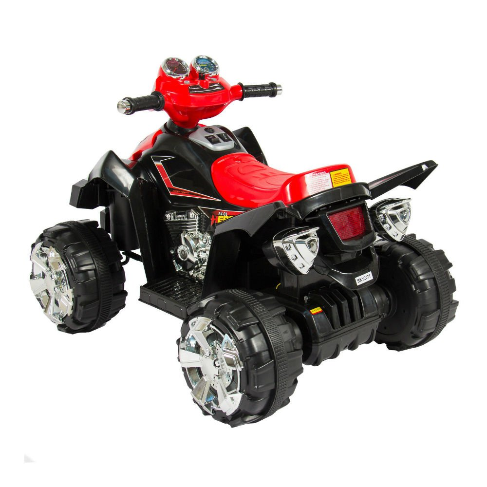 Amazon.com: Kids Ride On ATV Quad 4 Wheeler 12 V ENERGÍA de ...
