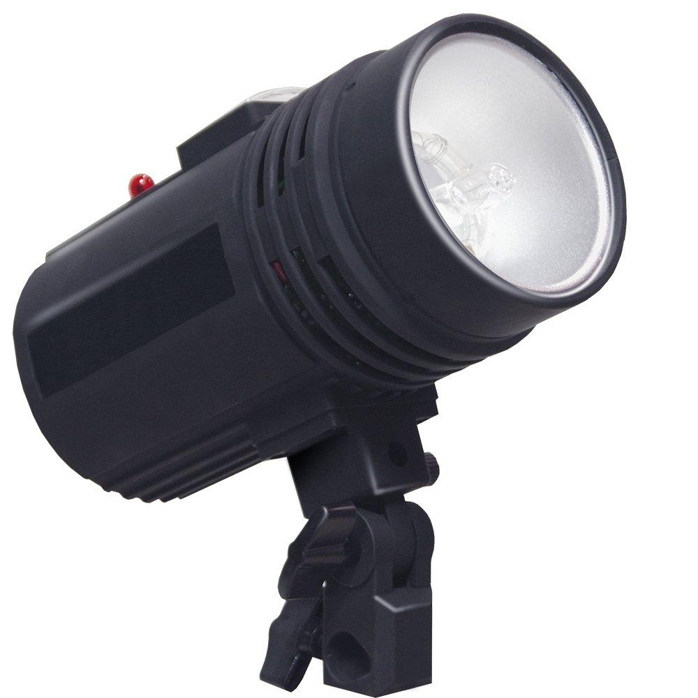 200 Watt Studio Flash/Strobe Light, Fuse, Test Button, Wireless Triggering Available, Umbrella Input, Mount on Light Stand, Professional Photography Use, Photo Studio, AGG2044 by LimoStudio (Image #2)