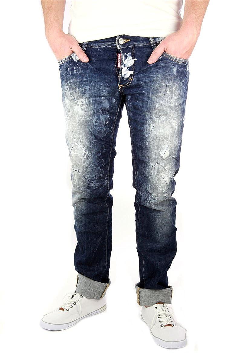 Dsquared Original Diseño Hombre Pantalones Vaqueros Genial ...
