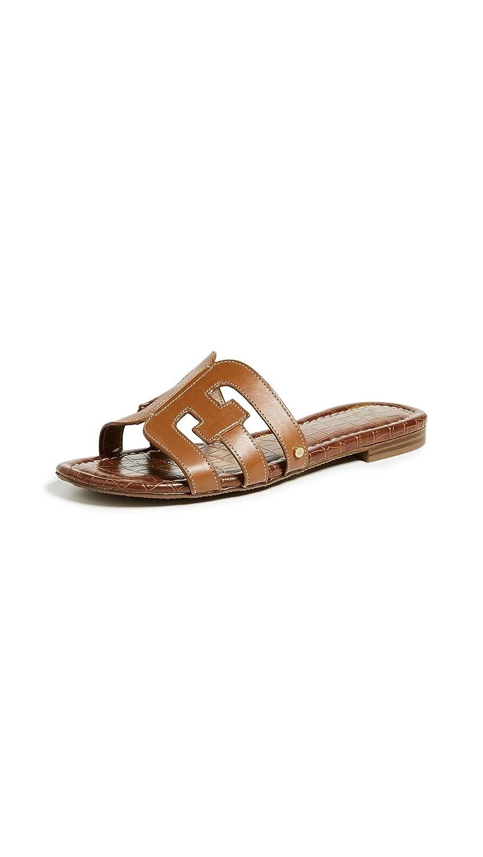 Sam Edelman Women's Bay Slide Sandal B0762SJ3LX 4.5 B(M) US|Saddle