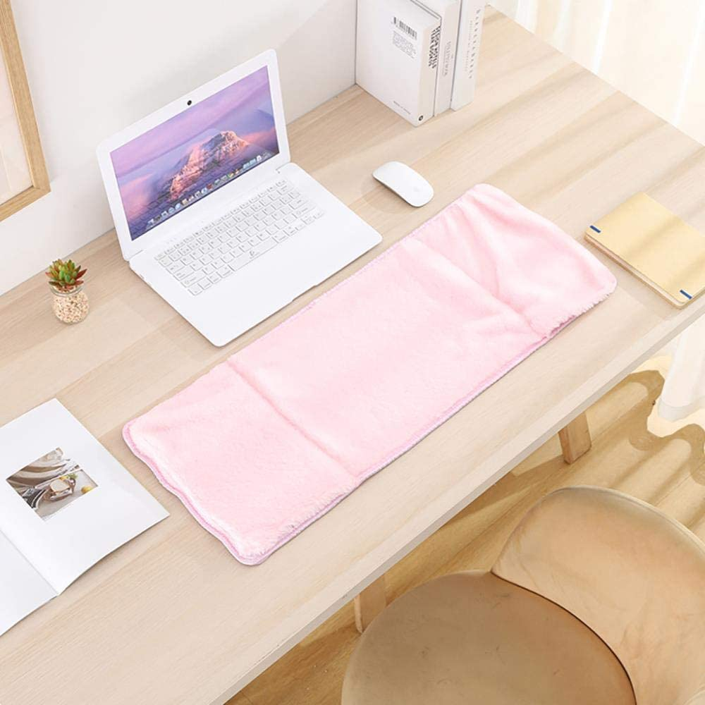 USB Heated Mouse Pad Mat Winter Hand Warmer Large Mouse Pad Gamer Table Mat Computer Mousepad Keyboard Desk Cover Red