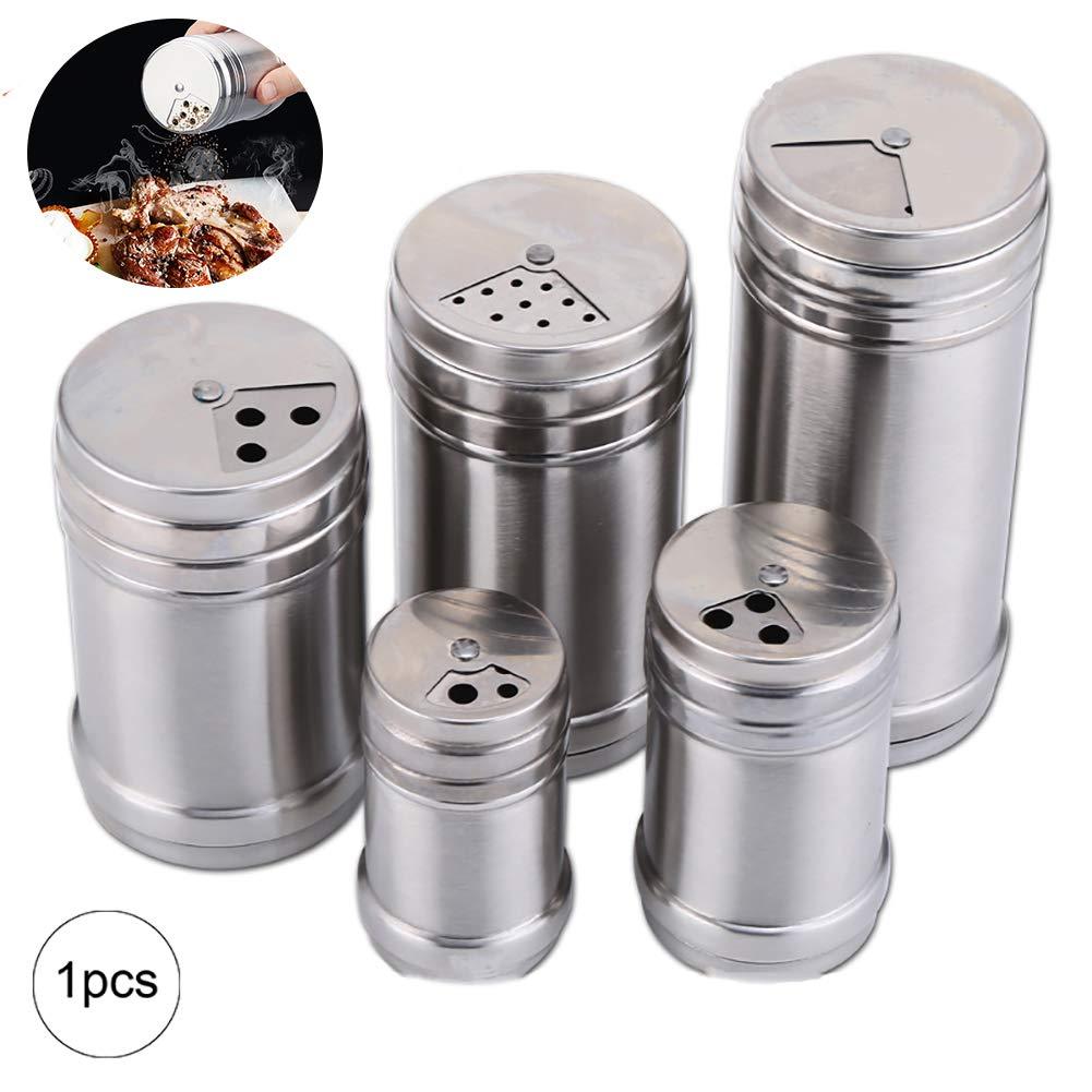1.6x3.1 pulgadas 1Pc Coctelera de sal Las coctelera de sal modernas de acero inoxidable con im/án para cocina
