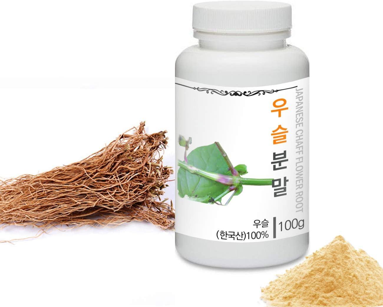 [Medicinal Herbal Powder] Prince Natural Japanese Chaff Flower Roots Powder/프린스 우슬분말, 3.6oz / 100g (Achyranthes Japonica/우슬)