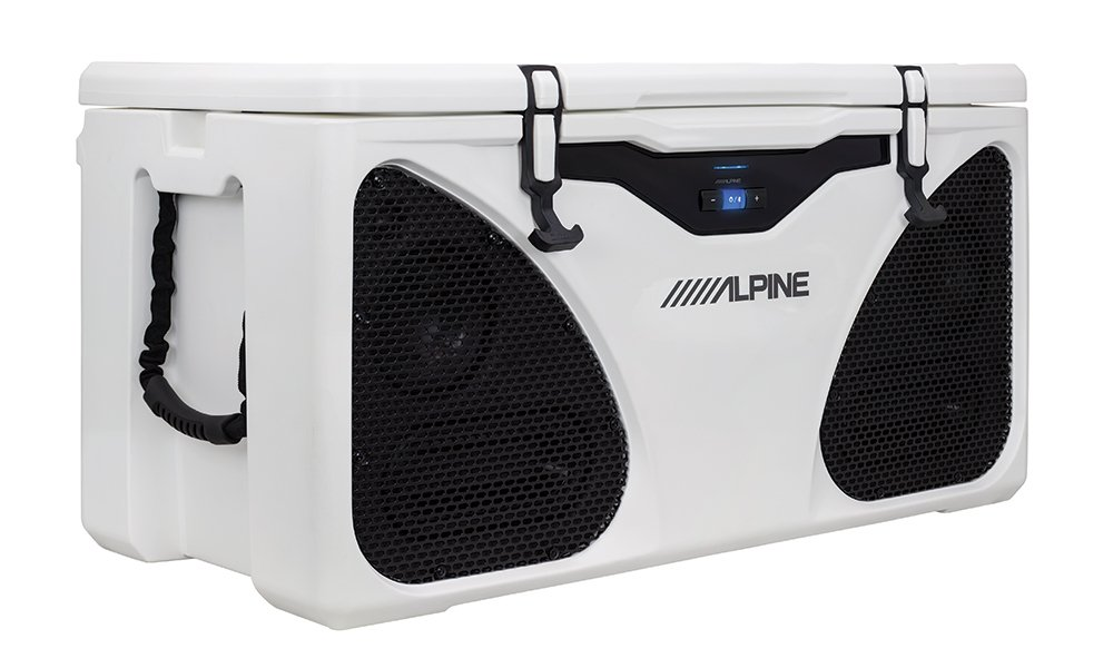 Alpine Electronics Ice (in-Cooler Entertainment) System, White, One Size by Alpine (Image #2)