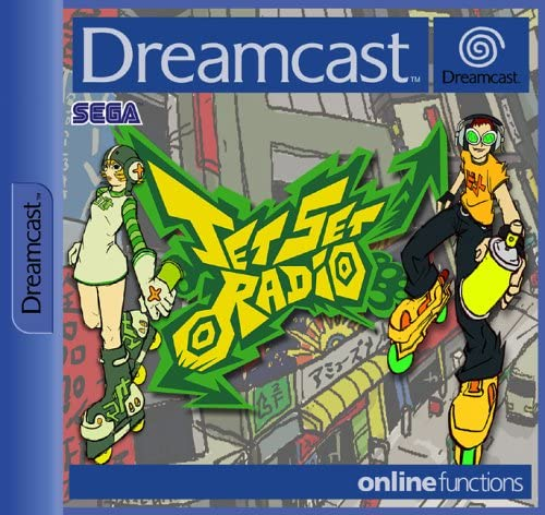 Jet Set Radio: best Dreamcast games