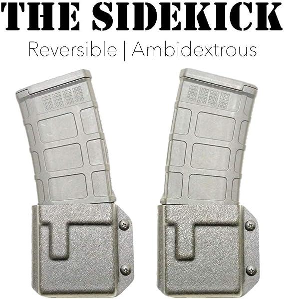 Kydex Holsters: Sidekick 223 Magazine Kydex Holster//Pouch - Black USA C.B