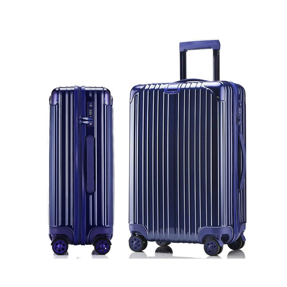 QL-スーツケース 黒、赤、青、荷物スーツケースユニバーサルユニバーサルホイール搭乗トロリーケースファッション、59センチ×38センチ×24センチ 旅行用品 (Color : C, Size : 59cmX38cmX24cm) B07T4V8724 C 59cmX38cmX24cm