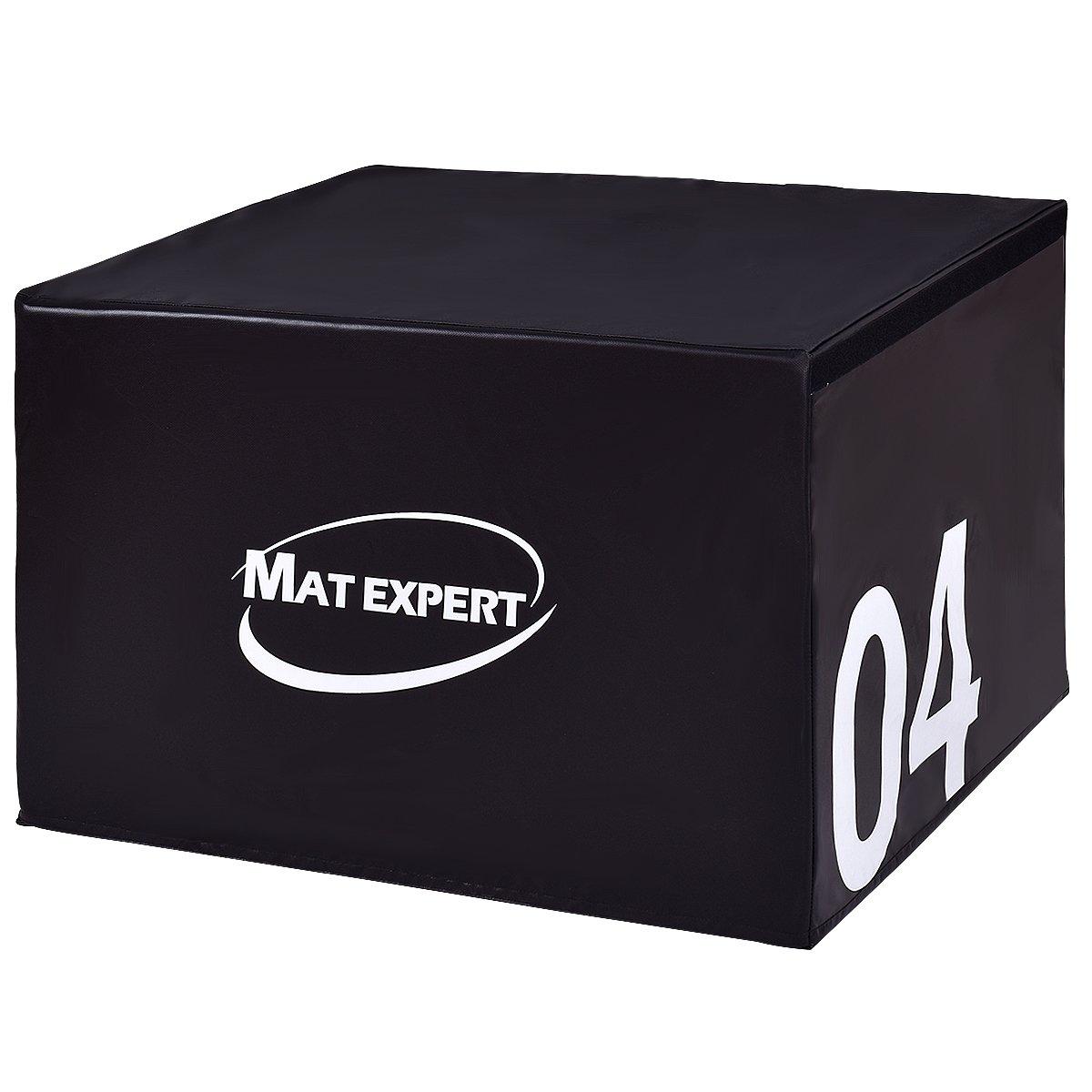 MAT EXPERT PVCソフトフォームジャンピングボックス プライオメトリックエクササイズ フィットネスセーフボックス  24\ B0749KKVQJ