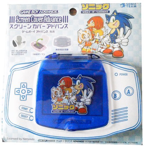 (Sonic the Hedgehog Gameboy Advance Screen Cover)