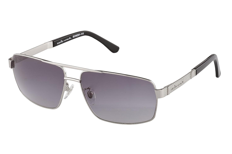 Carlo Monti Herren SCM201-111 Rechteckig Sonnenbrille
