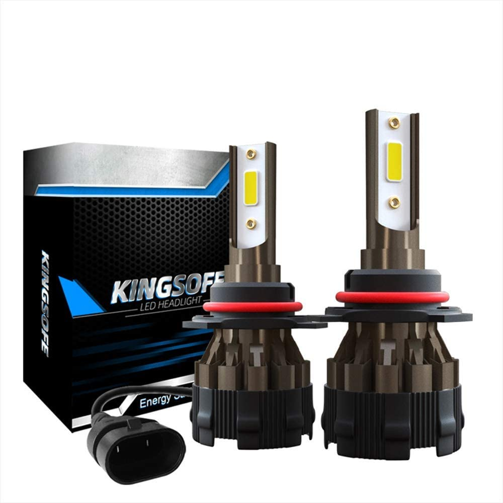H7 Qianrunhe K2 Phares de voiture LED Feux de route et de brouillard basse consommation d/'/énergie 9005//H10//Hb3//H4//9003//Hb2//H7//H1