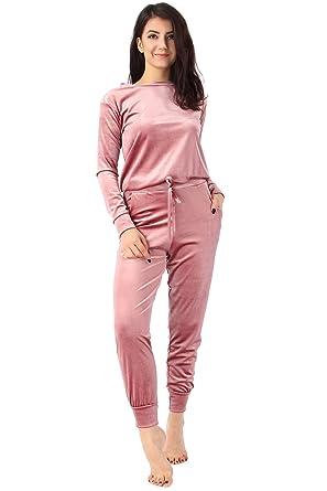 Missi London - Chándal - para Mujer Rosa Rosa (b) Medium: Amazon ...