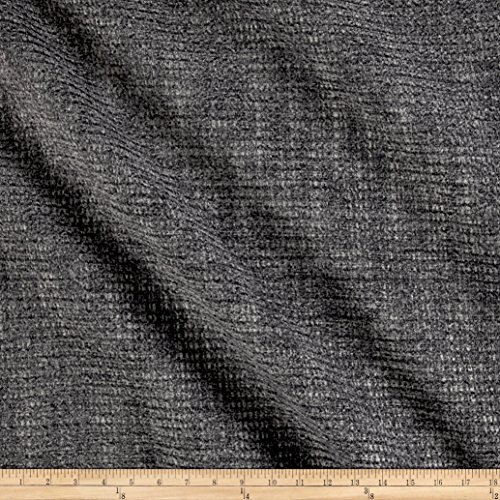 - Fabric 0566883 Homestead Chenille Upholstery Graphite Yard