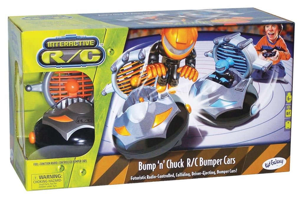 Kid Galaxy Bump N Chuck Rc Bumper Car Uk