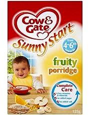 Cow & Gate Sunny Start Fruity Porridge 4-6mth+ (125g)